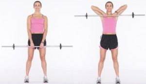upright row pull exercise