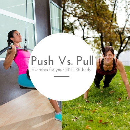 Push vs pul exercises